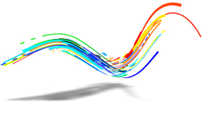 colour swirl graphic